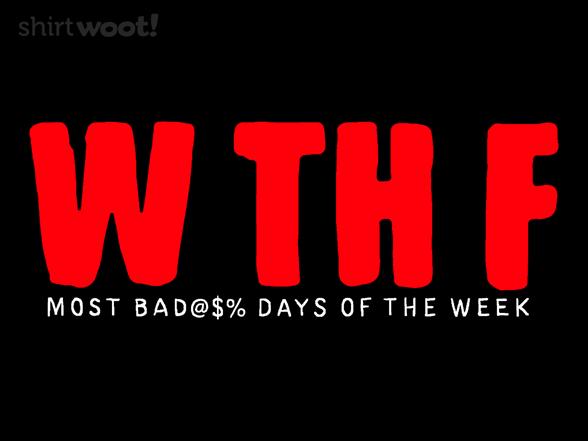Woot!: W Th F