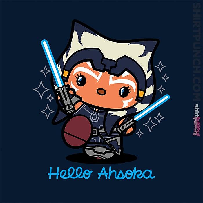 ShirtPunch: Hello Ahsoka