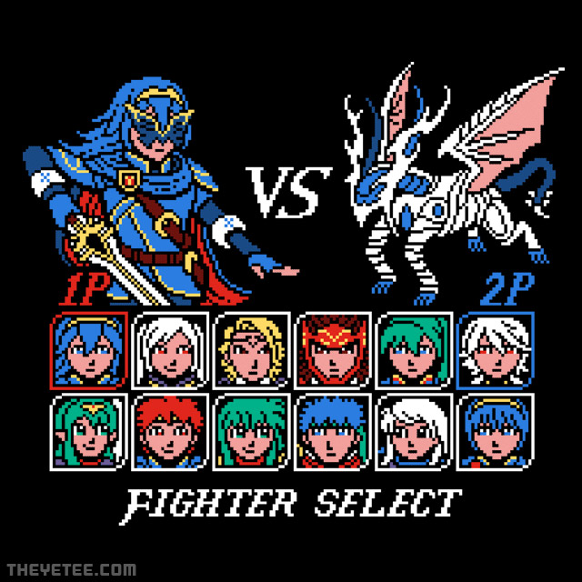 The Yetee: Fighter Emblem