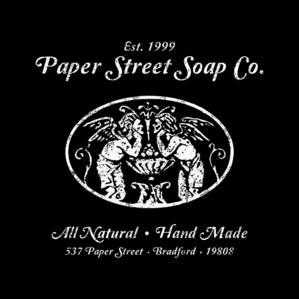 Five Finger Tees: Paper Street Soap Co. T-Shirt