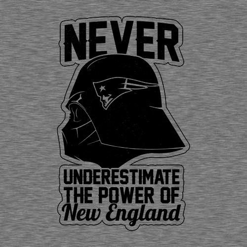 Five Finger Tees: Never Underestimate The Power Of New England T-Shirt