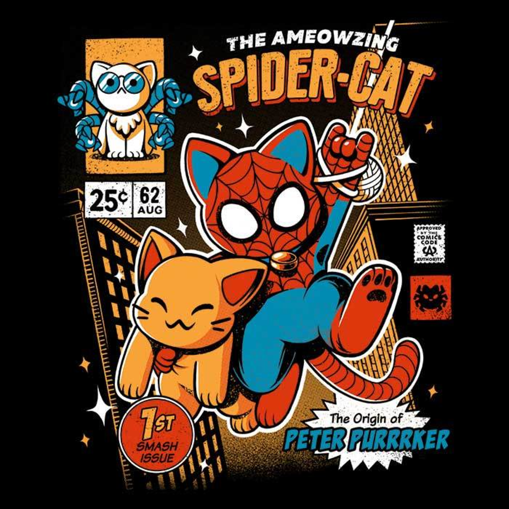 Once Upon a Tee: Spider Cat
