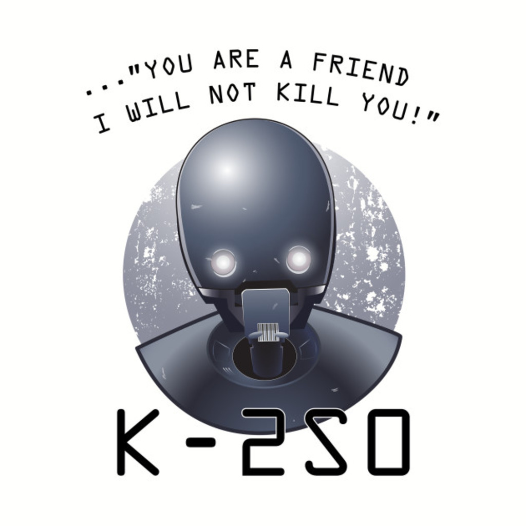 TeePublic: Rogue Droid T-Shirt