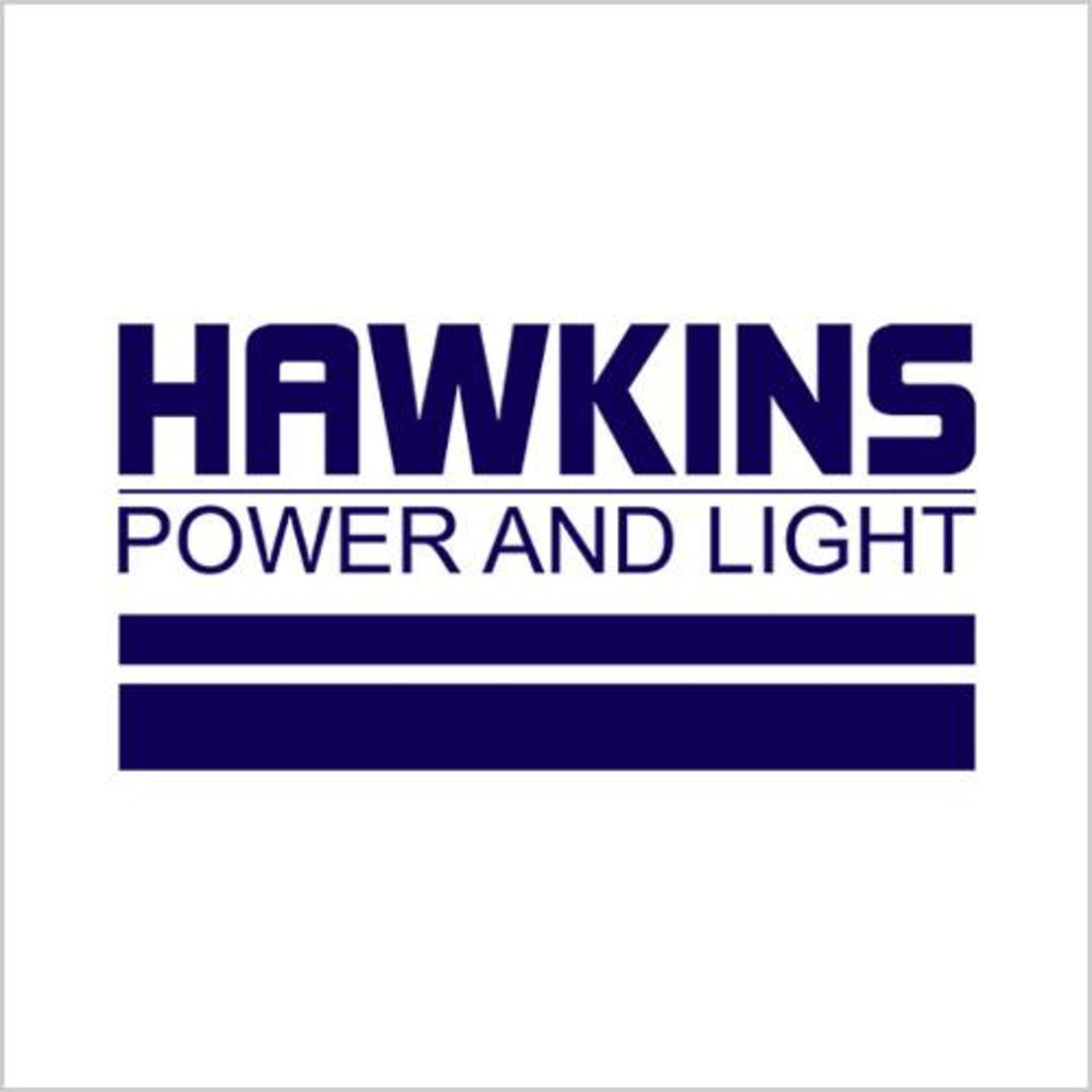 Five Finger Tees: Hawkins Power And Light T-Shirt