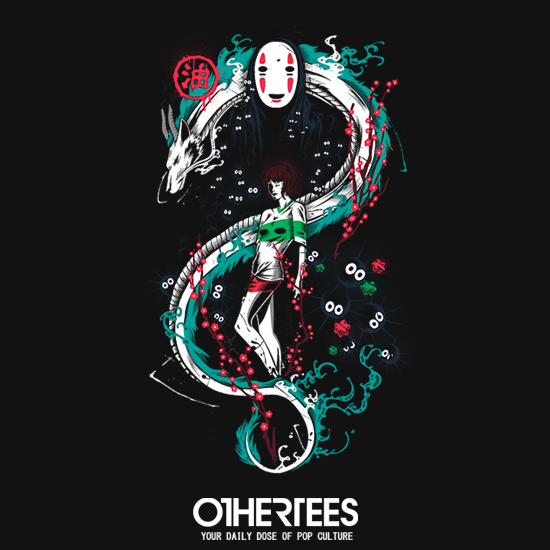 OtherTees: Spirited Graffiti