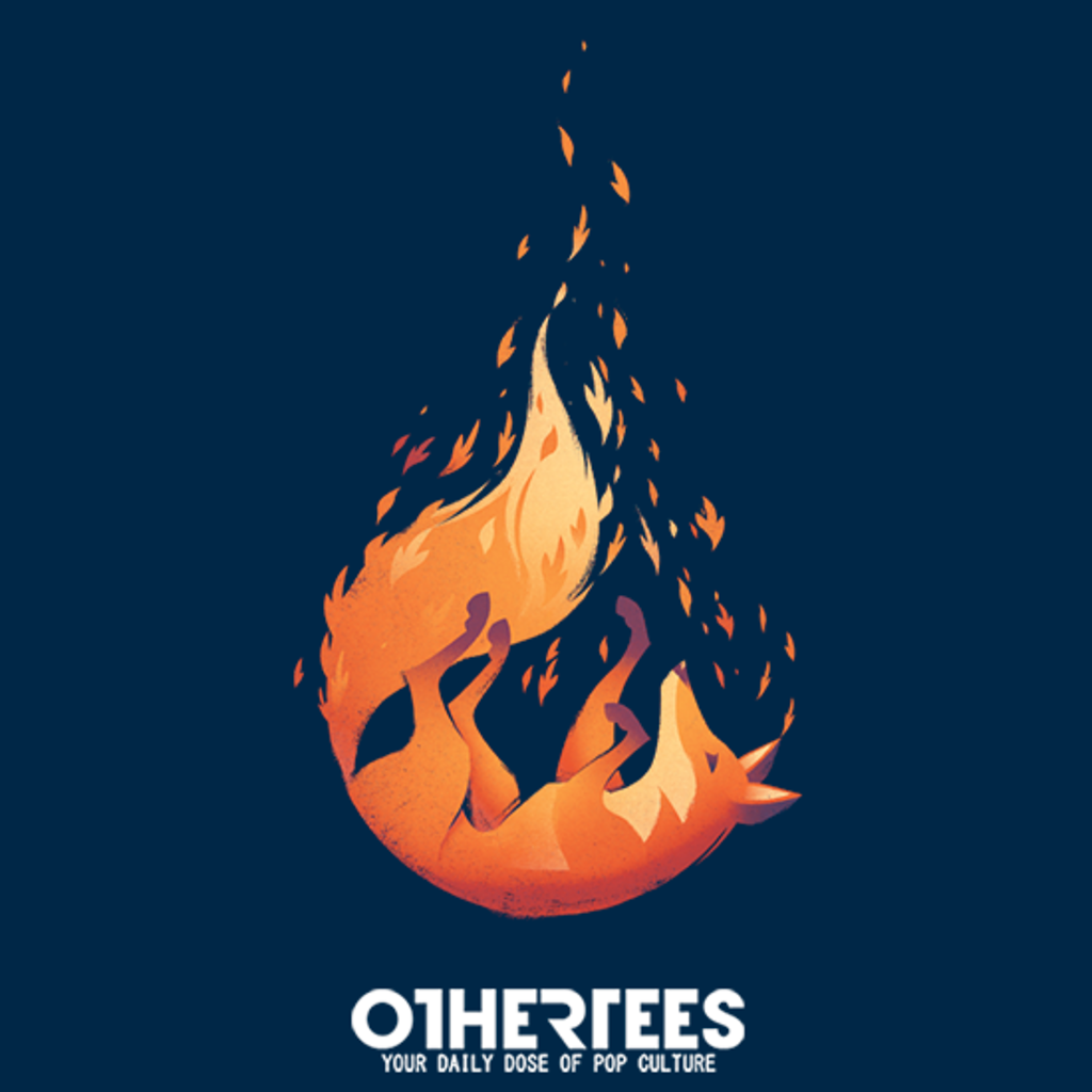 OtherTees: Falling Fox