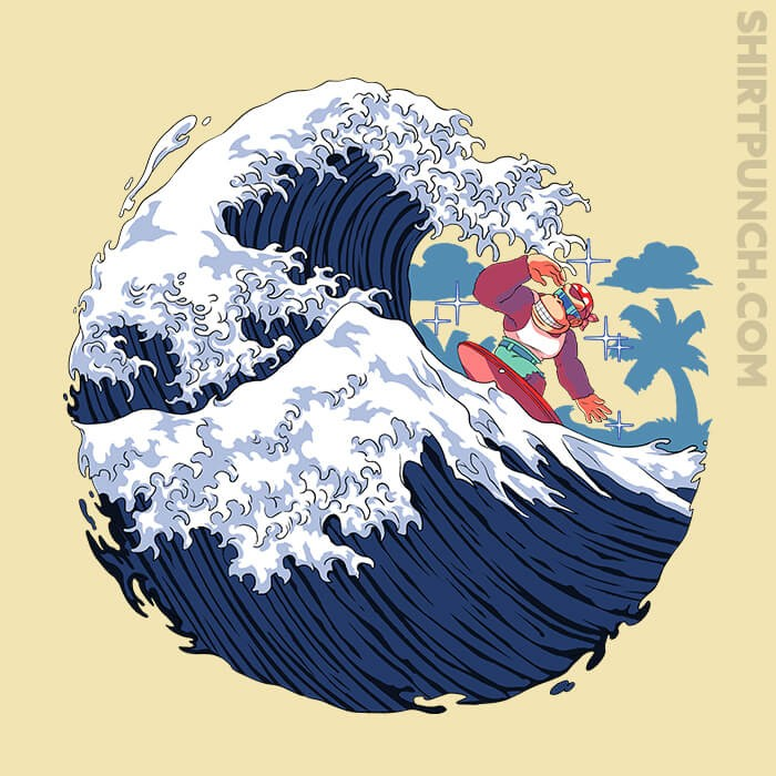 ShirtPunch: Funky Wave