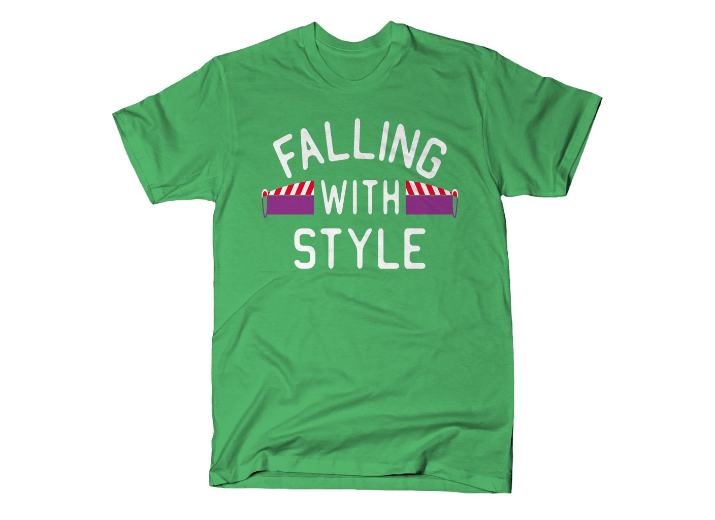 SnorgTees: Falling With Style