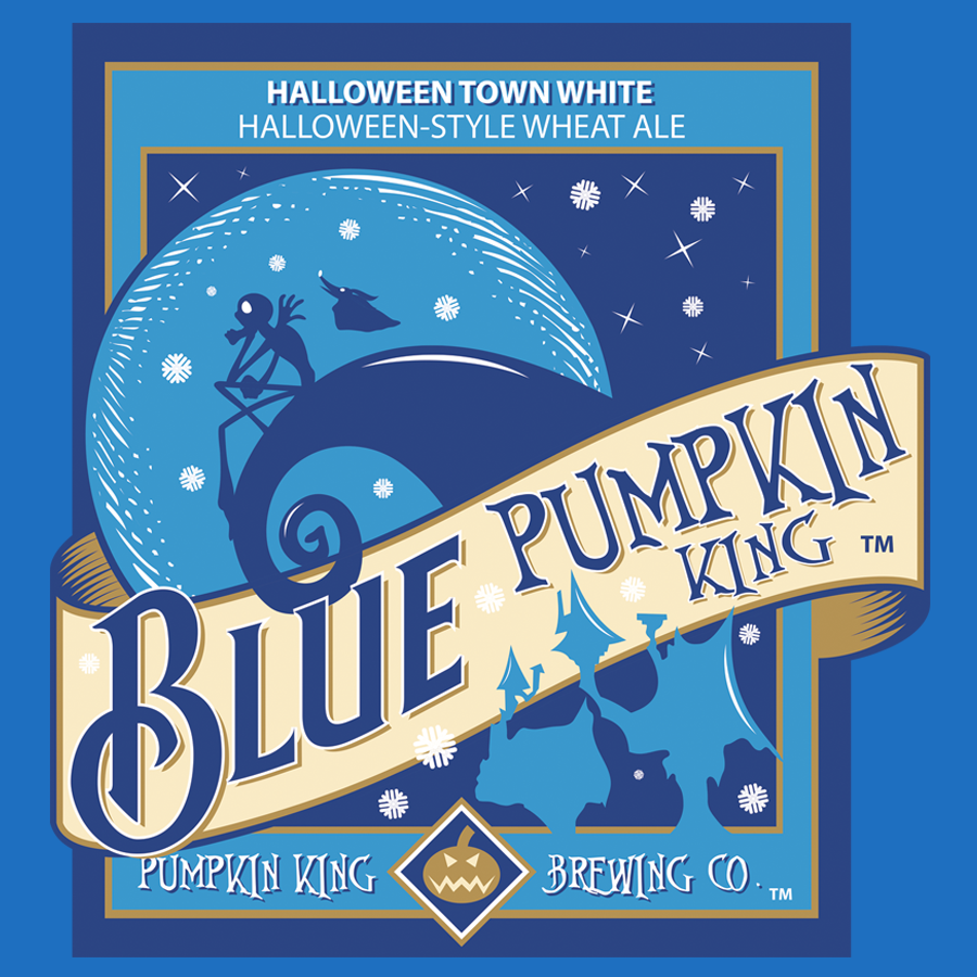 Teeconomist: Blue Pumpkin King