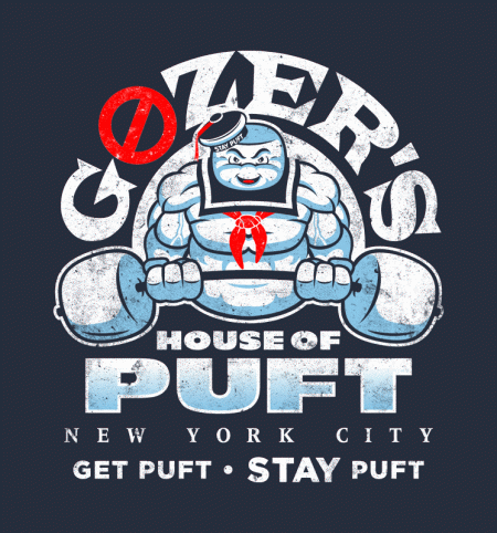 BustedTees: Gozers Gym House of Puft