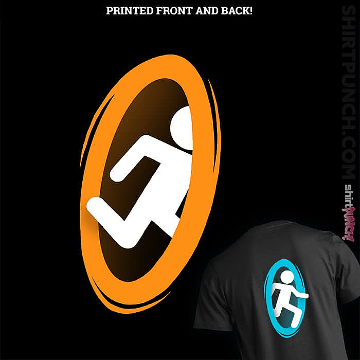 ShirtPunch: There Is A Portal On My T-Shirt