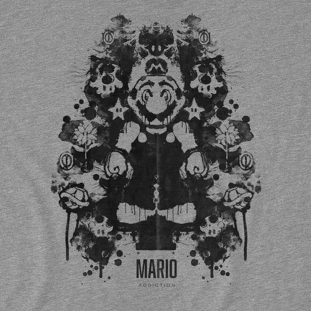 Pop-Up Tee: Mario Ink Blot