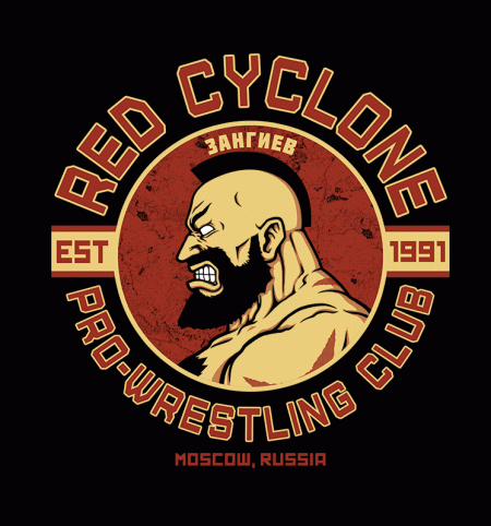 BustedTees: Pro-Wrestling Club