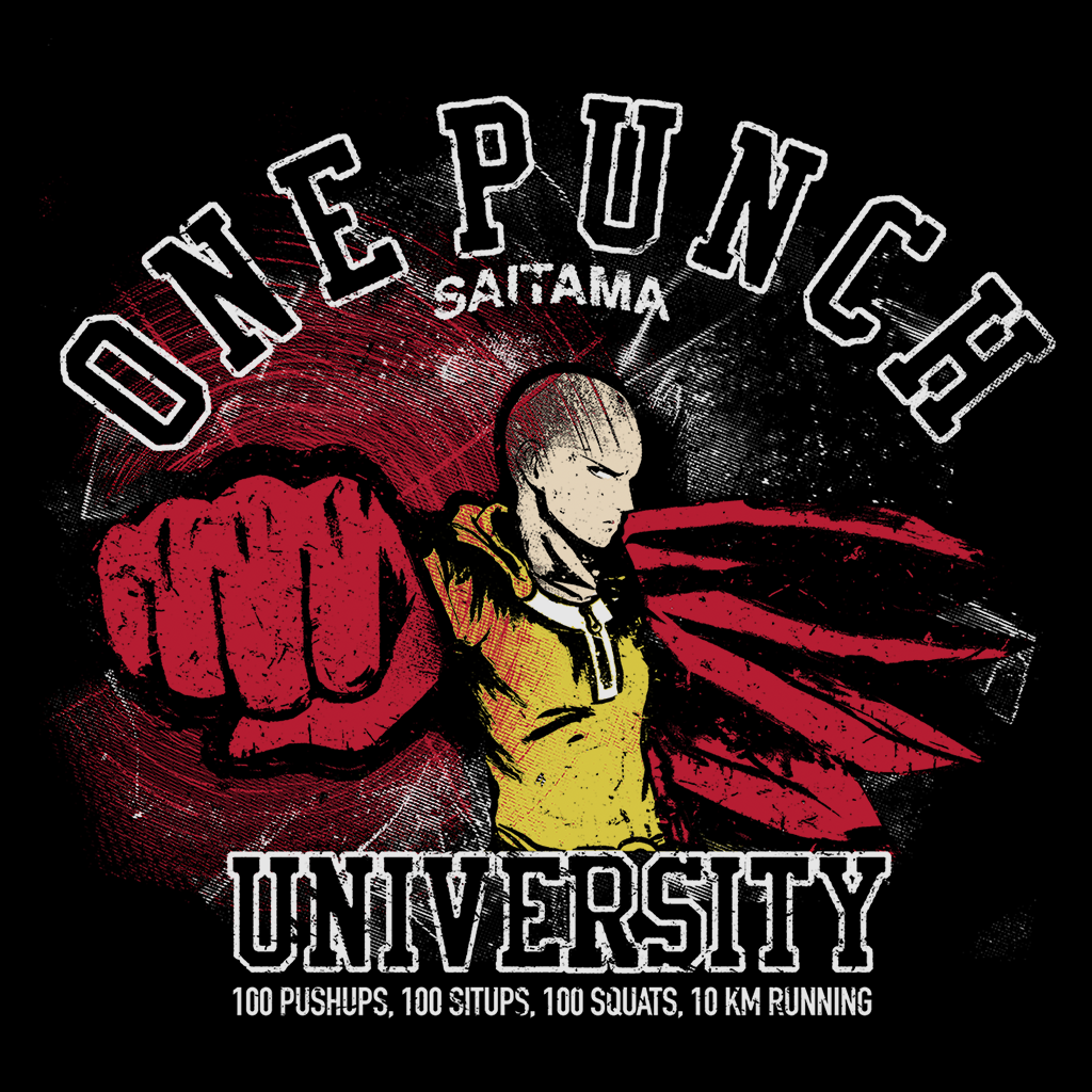Pop-Up Tee: One Punch University