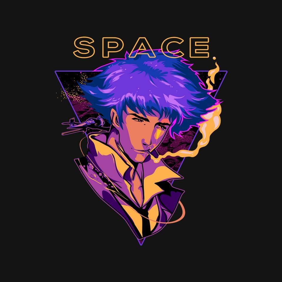 TeeFury: Space Bebop