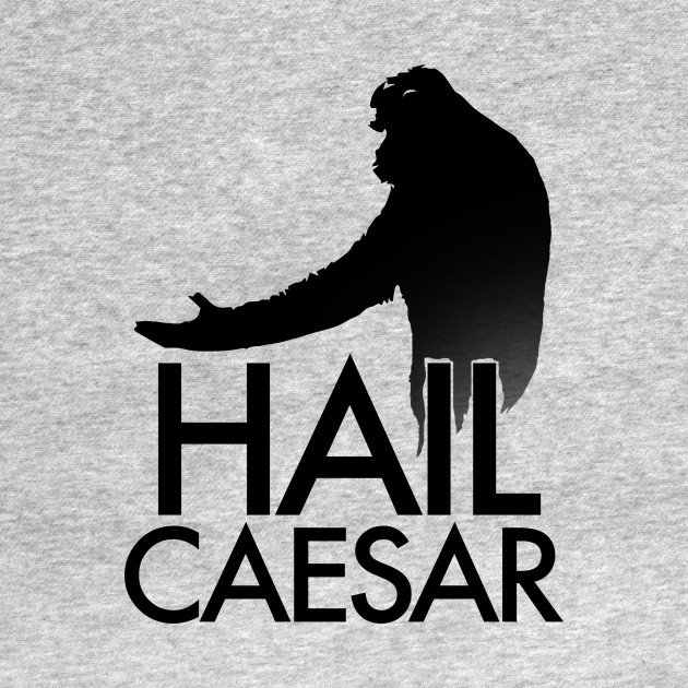 TeePublic: Hail Caesar - Planet of the Apes