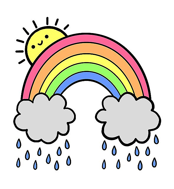 RedBubble: Rainbow Above the Clouds