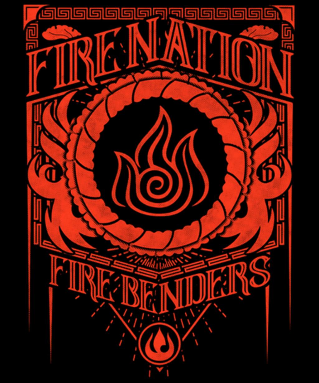 Qwertee: Fire Nation