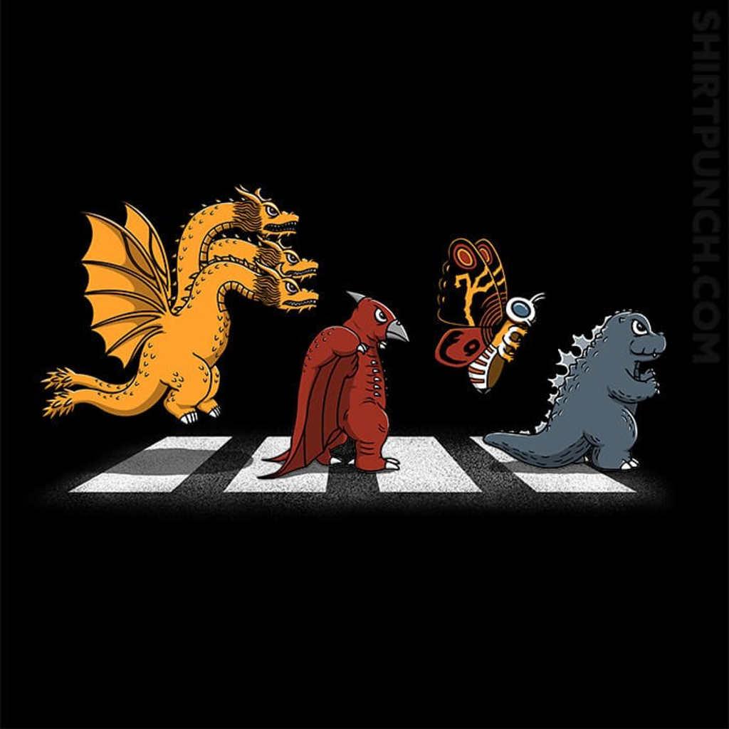 ShirtPunch: Kaiju Road