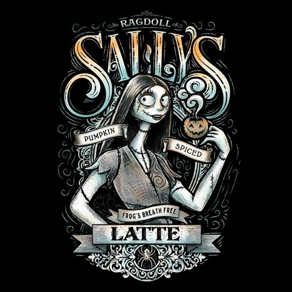 Once Upon a Tee: Ragdoll Sally's Latte