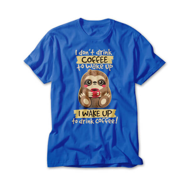 OtherTees: Coffee sloth