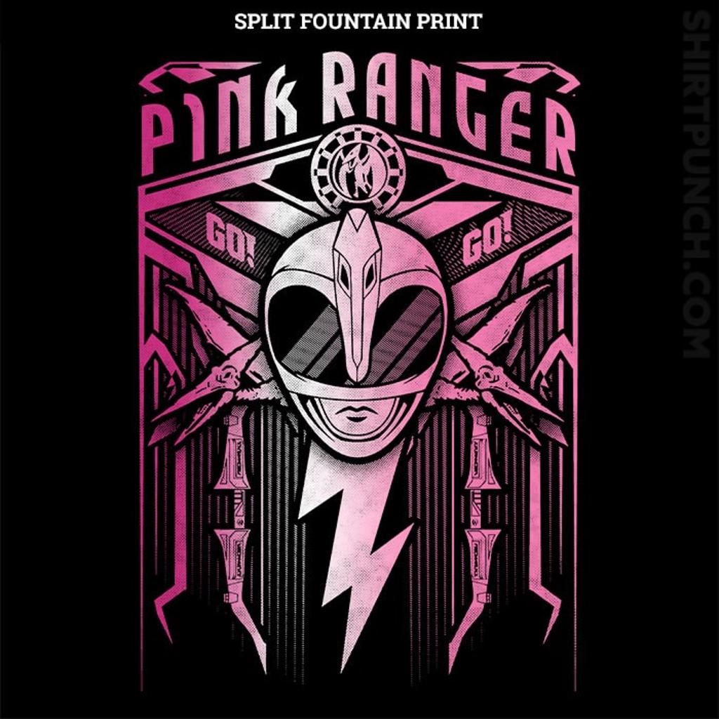 ShirtPunch: Pink Ranger Crest
