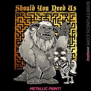 ShirtPunch: Should You Need Us
