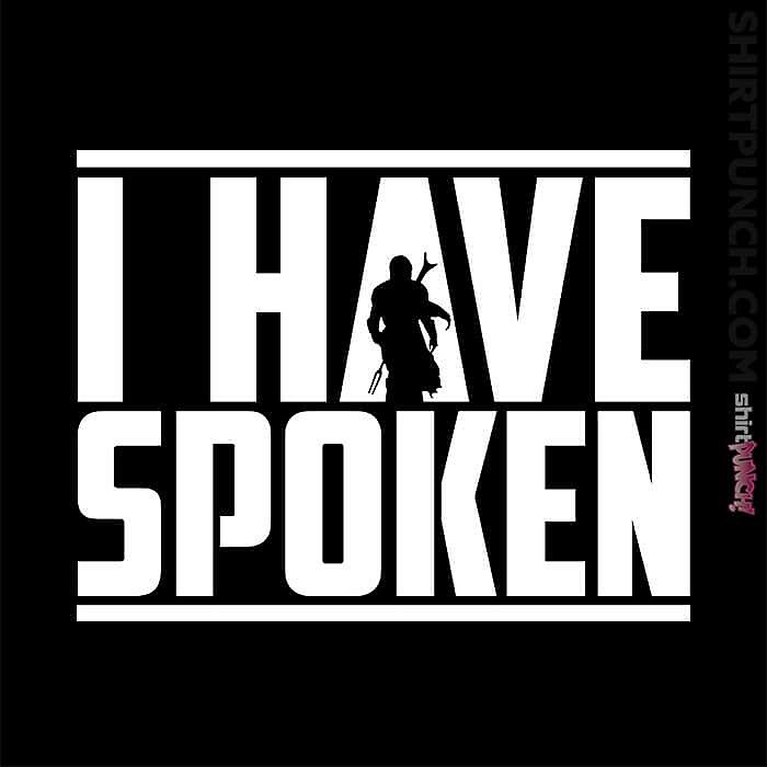 ShirtPunch: I Have Spoken