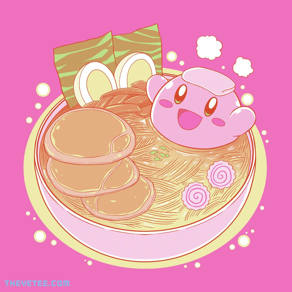 The Yetee: Hot Ramen Tub by Coinbox Tees