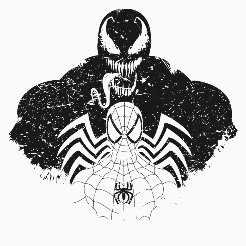 Pop-Up Tee: Dark Spider Shadow