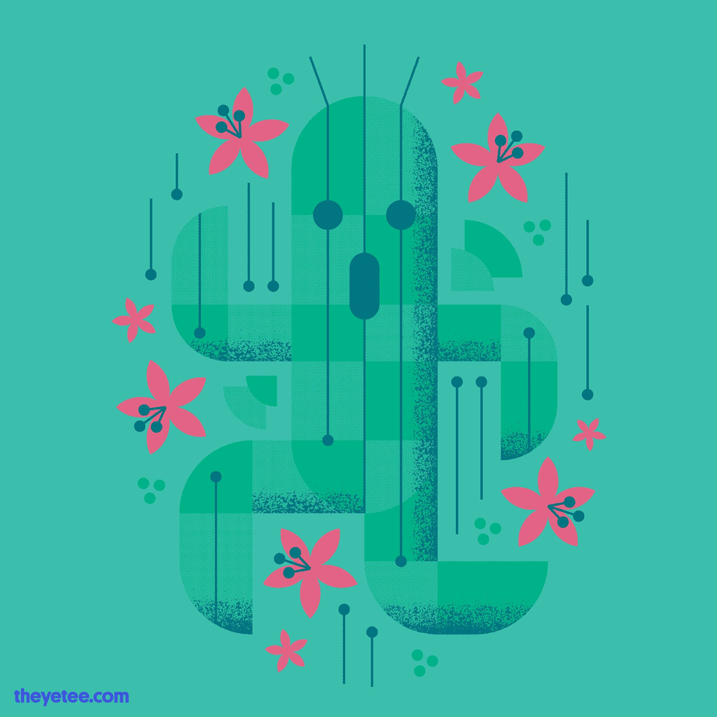 The Yetee: Cactus Blossoms
