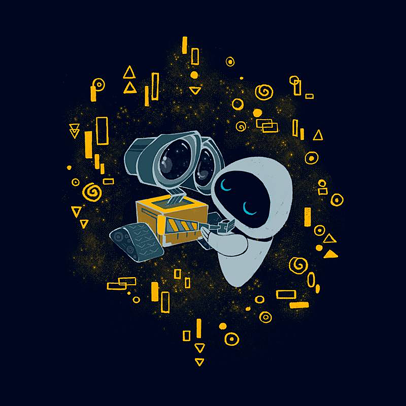 Pampling: WALL·E Kiss