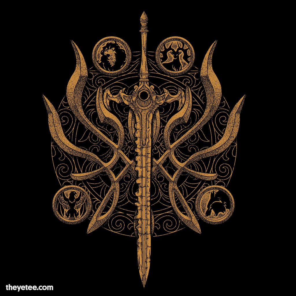 The Yetee: Flame Crest