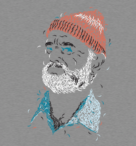 BustedTees: Zissou of Fish