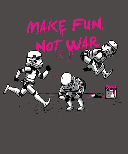 Qwertee: Make fun, not war