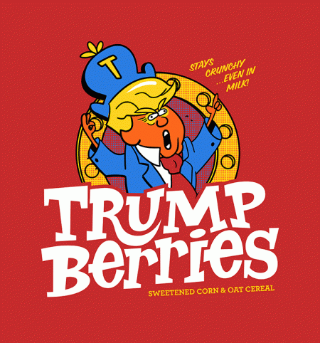 BustedTees: Trump Berries