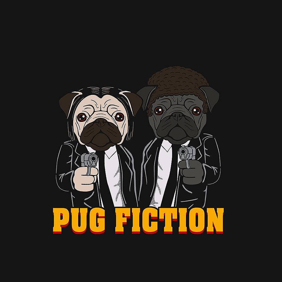 TeeFury: Pug Fiction