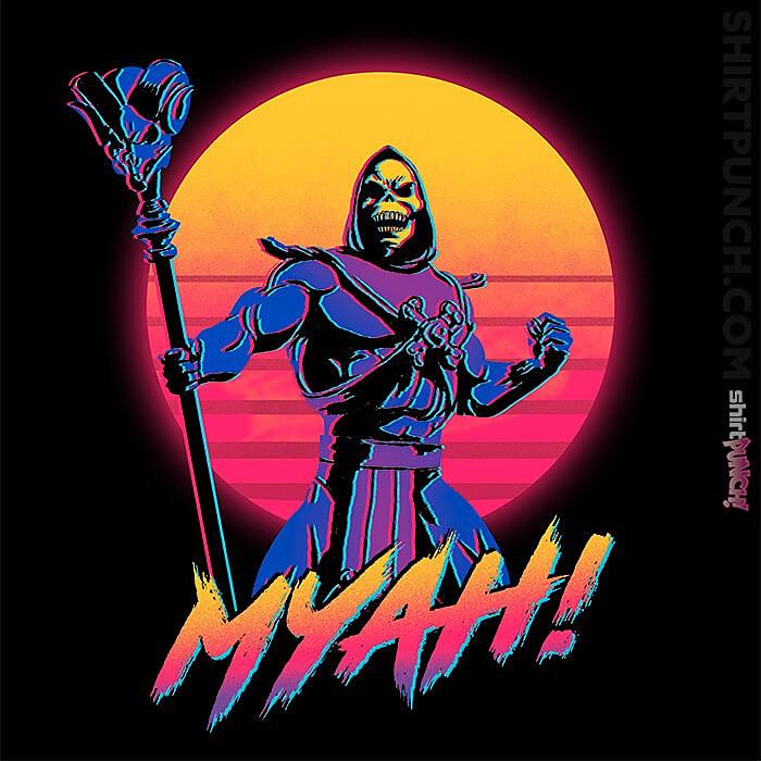 ShirtPunch: Myah!