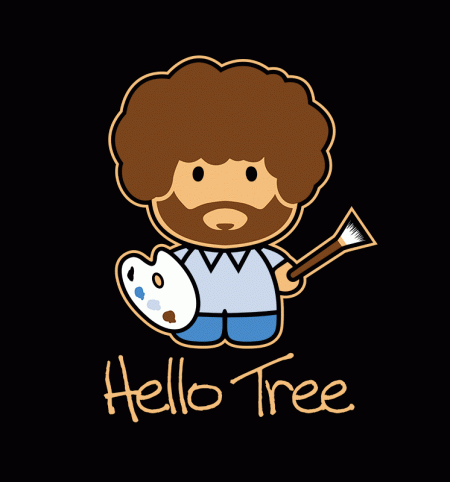 BustedTees: Hello Tree