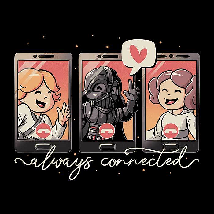 Once Upon a Tee: Galaxy Connected