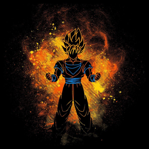 Once Upon a Tee: Kakarot Art