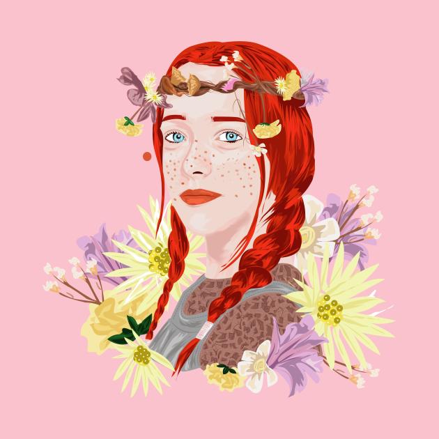 TeePublic: Anne With an E/ Amybeth McNulty