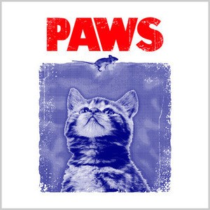 Five Finger Tees: Paws (Jaws) T-Shirt