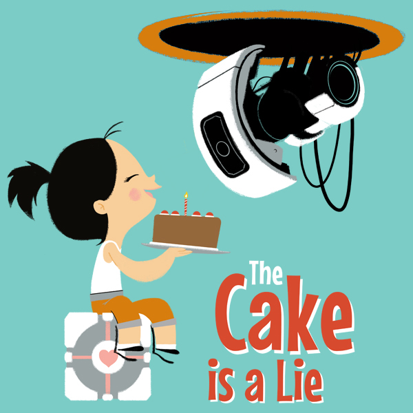 GraphicLab: The Cake Is A Lie