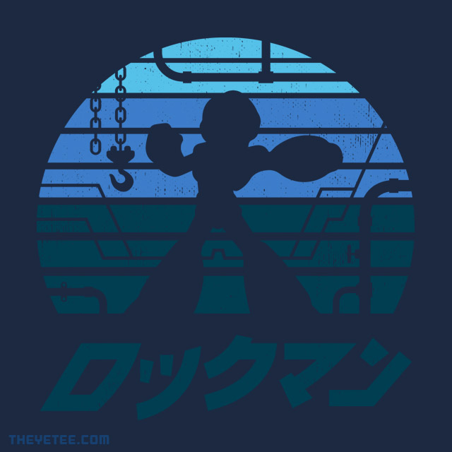 The Yetee: RockMan Sunset