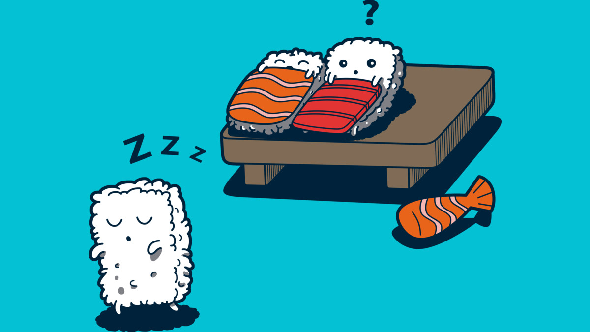 Design by Humans: Sleepwalking sushi