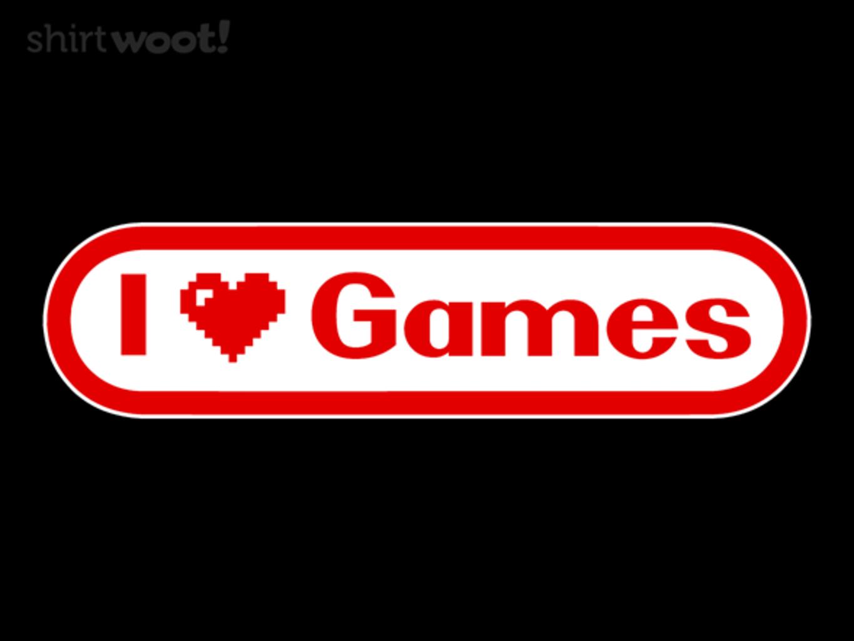 Woot!: I Heart Games
