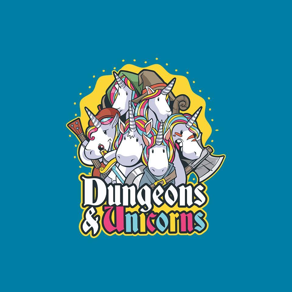 TeeFury: Dungeons and Unicorns