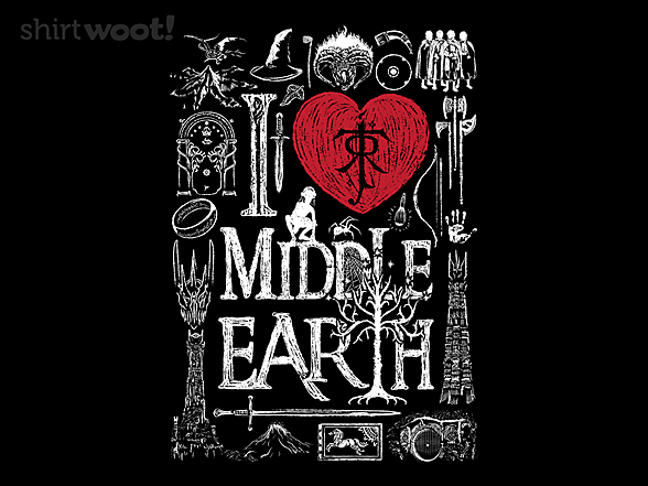 Woot!: I Love Middle Earth