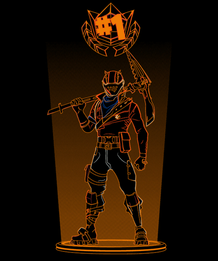 Qwertee: Shadow of the rust lord